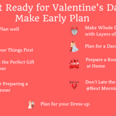 Get Ready for Valentine's Day: Make an Early Plan